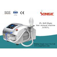Wholesale Portable IPL SHR body slimming machine , Facail Laser Hair Depilation from china suppliers
