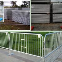Wholesale temporary fence barricade from china suppliers