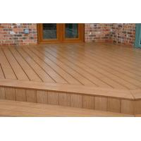 Wholesale Totally Recyclable WPC Composite Decking Timber For Garage Flooring from china suppliers