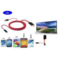 Wholesale MHL Micro USB to HDMI 1080P Adapter cable for Samsung Galaxy S2S3S4S5 Note 2 3 from china suppliers