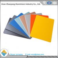 Wholesale 3003 0.9mm 1.0mm Color Coated Aluminium Plate For Decoration Weatherproof 50 kg / Cm from china suppliers