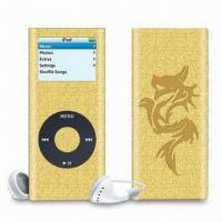 Wholesale iPod Metallic Stickers, Protect Face Panel and Back Panel of iPod Devices from china suppliers