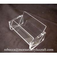 Wholesale Simple Transparent Business Name Card Holder Acrylic Display Case from china suppliers