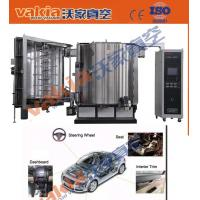 Quality Automatic PVD Plating Equipment , Automotive Interiors Carbon Fiber PVD Chrome Plating for sale