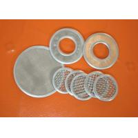 Wholesale Micron Wire Mesh Filter Screen Mesh Filter For Well Water , 304 Stainless Steel from china suppliers