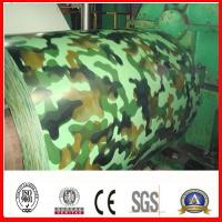 Buy cheap Camouflage Color Coated Steel Coil from wholesalers