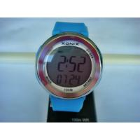 Wholesale Round Sporty LCD Electronic Quartz Digital WristWatch for Unisex from china suppliers