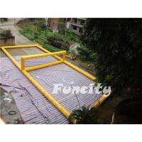 Wholesale Seaside 0.9mm PVC Tarpaulin Inflatable Volleyball playground from china suppliers