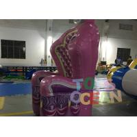 Wholesale Inflatable Products Queen Throne Chair Single Pink Inflatable Throne Armchair from china suppliers
