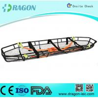 Sturdy Flexible Emergency Basket Type Stretcher Stainless Steel Safety Belts