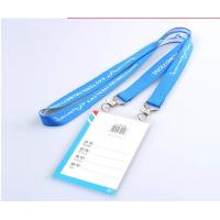 Wholesale 90cm Length Different Color Badge Holders Lanyards With Custom Logo Size from china suppliers
