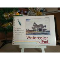 Wholesale 190gsm 24sheets Artist Paint Pad gummed watercolour pad A3 / A4 watercolour paper from china suppliers