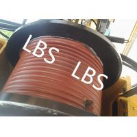 Quality High Efficient Offshore Winch Wire Rope Rotary Drilling Rig Winch With Lebus for sale