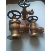 Wholesale JIS marine bronze angle fire valve/hydrant valve JIS F7334B from china suppliers