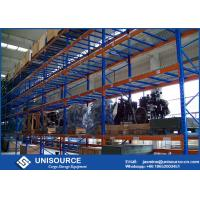 Wholesale Industrial Storage Heavy Duty Warehouse Racks 400 - 2750 Mm Depth With Wire Mesh Deck from china suppliers