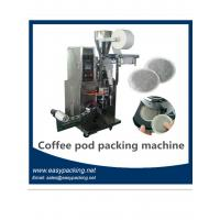 Quality Round Coffee Packing Machine / Coffee Pod Packing Machine with Filter Bag / Envelope for sale