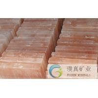 Wholesale Heat insulation rectangle crystal rock himalayan Salt Brick for sauna rooms from china suppliers