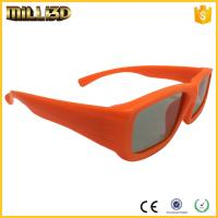 Buy cheap plastic framed passive clear polarized 3d glasses used for cinema from wholesalers