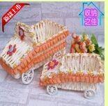 Wholesale Car Shape Paper Rope Storage Basket from china suppliers