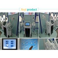 Buy cheap 4 Handles working in the same time  cryolipolysis fat freezing equipment  for body slimming in discounting spa/clinic from wholesalers