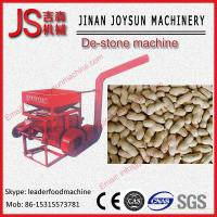 Wholesale Round 4KW Groundnut Cleaning Destoner Machine Easy To Move from china suppliers