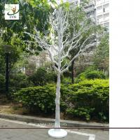 Buy cheap UVG white plastic model artificial trees with dry tree branches for christmas decoration DTR35 from wholesalers