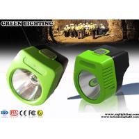 Wholesale 110 Lum Cordless Led Mining Cap Lamp 6000 Lux Main Brightness Explosion Proof from china suppliers