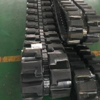 Wholesale Excavator HITACHI EX60 LC.5 CATERPILLAR 308DCR Rubber Track Rubber Crawler B450*81*78N from china suppliers