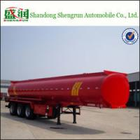 China Shengrun Crude Palm Oil Tankers 40 000 Liters Fuel Tanker for Sale on sale