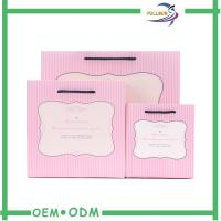 Wholesale Custom Matte Pink  Paper Shopping Bags / Paper Gift Bags SGS / FSC from china suppliers