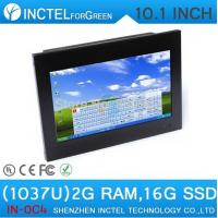 Wholesale All in one touchscreen pc with HDMI 10.1 inch industrial 4-wire resistive screen support calls boot Wake on LAN from china suppliers