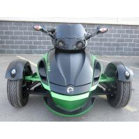 Wholesale 1000cc Can Am 3 Wheel Motorcycle , V - Twin 2 Front Wheel Motorcycle Liquid Cooled from china suppliers