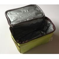 Wholesale Nonwoven Zippered Fast Food Thermal Delivery Bag , Take Out Portable Thermal Lunch Bag from china suppliers