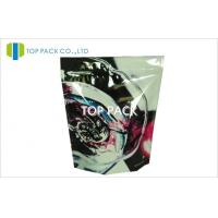 Wholesale Ziplock  Stand Up Bag Packaging Colorful Desgin Front Printed Back Clear Cosmetics from china suppliers