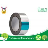 Wholesale Sliver Colored Aluminium Insulation Tape , Aluminum Heat Tape For Carton Sealing from china suppliers