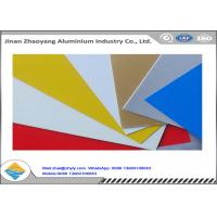Wholesale Oxidation Resistant Color Coated Aluminum Coil / Sheet Width 500 - 1500mm from china suppliers