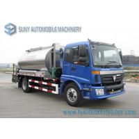 Wholesale 9000 L Asphalt distributor truck 2 Axles 180hp 4500 mm Wheel base from china suppliers