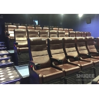 Wholesale 4 Seats Black PU leather 4D Cinema Motion Chair Pneumatic / Electronic for Home Theater from china suppliers
