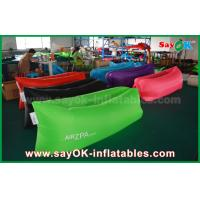 Wholesale Blue Hangout Summer Sleeping Air Bag Lazy Lounge Pop up Sofa CE from china suppliers