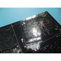 Buy cheap 2 Layer Black PCB 1.53-1.62mm Thick 42.02um Copper Thick FR -4 ITEQ 100% Test Pass from wholesalers