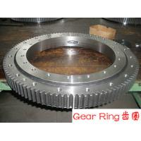 Wholesale Custom Alloy Steel Forging Spur Gear Ring Flange ASTM EN Standards For Wind Turbine from china suppliers
