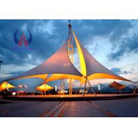 Wholesale Heavy Duty Tensile Fabric Structures Large Square Shade Sail Steel Q235 Frame from china suppliers