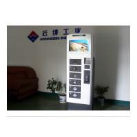 Wholesale 19 Inch Touch Screen LCD Cell Phone Charging Station Vending Machine Led Light Charger from china suppliers