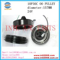 Wholesale DENSO10P30C auto a/c AC Compressor clutch 2 PK OO pulley Toyota Coaster bus 447220-0394 447220-1030 447220-0390 from china suppliers