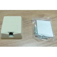 Wholesale Tooless Telephone Box With Gel Network Keystone Jack Telephone Surface Mount Box from china suppliers