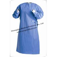 Wholesale Protective Non Woven Surgical Gown Lightweight Breathable SMS / SMMS from china suppliers