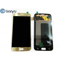 "Wholesale 5.1"" Original Samsung Lcd Screen Replacement Gold Color Galaxy S6 Display from china suppliers"