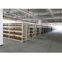 Wholesale Cold Rolled Steel Light Duty Racking System With Metal Plate Adjustable Height from china suppliers