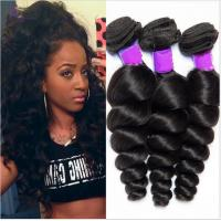 Wholesale Free Shedding  Human Brazilian Hair Extensions Natural Double / Strong Weft from china suppliers