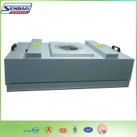 High Efficiency HVAC Air Filters , Industial FFU Fan Filter Unit with H13 99.99%